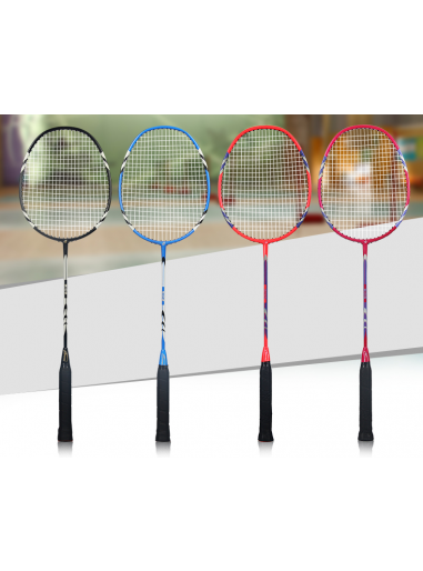 Carbon badminton racket